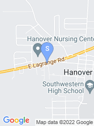 Hanover College map
