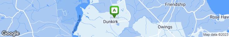 Map of Cluck-U Chicken