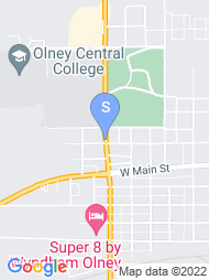 Olney Central College map