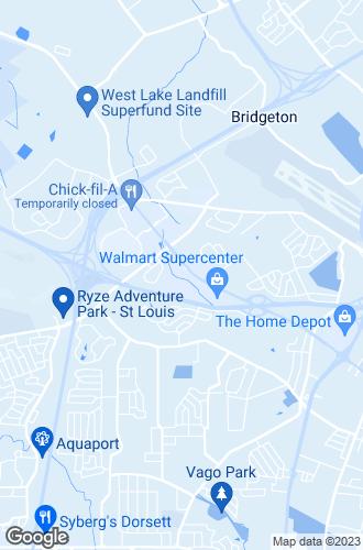 Map of Bridgeton