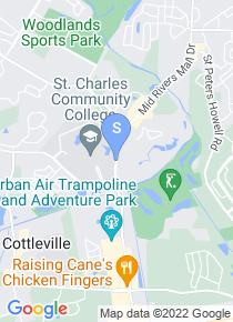 St Charles Community College map