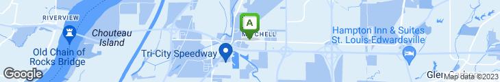 Map of Itty-bitty Restaurant