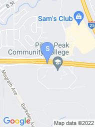 Pikes Peak Community College map
