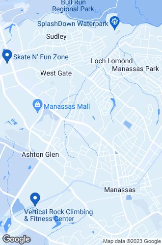 Map of Manassas