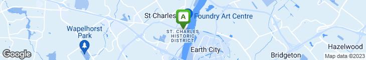 Map of Lewis & Clark's
