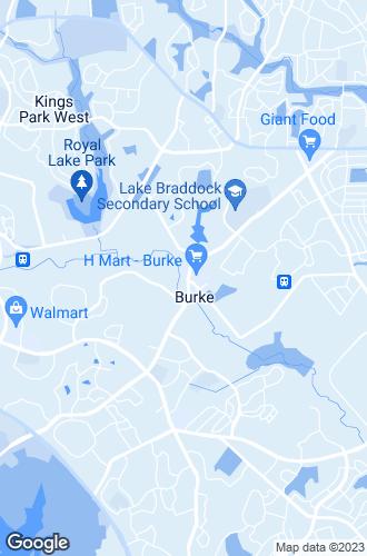 Map of Burke