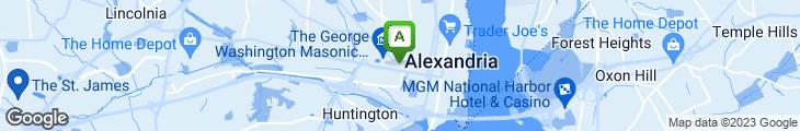 Map of Joe Theismann's