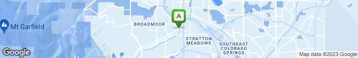 Map of Edelweiss Restaurant