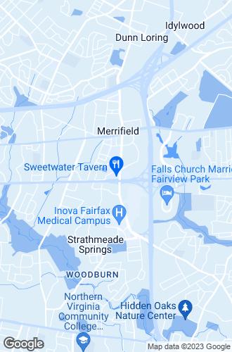 Map of Falls Church