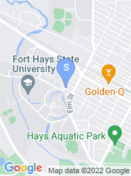 Fort Hays State University map