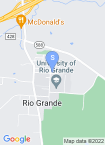 University of Rio Grande map