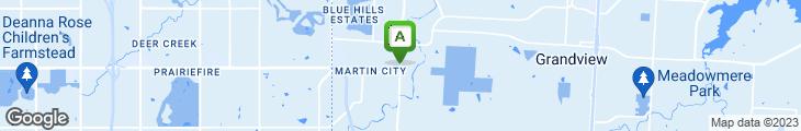 Map of Margarita's