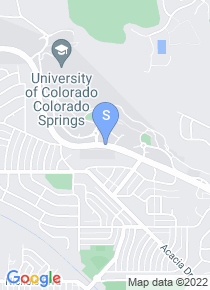 University of Colorado map