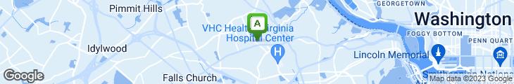 Map of Chesapeake Bagel Bakery