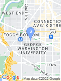 George Washington University map