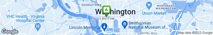 Map of Froggy Bottom Pub