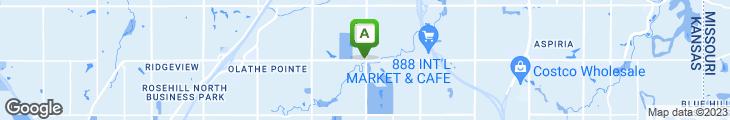 Map of Barley's Brewhaus & Restaurant
