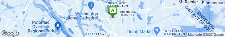 Map of Mama Ayesha (Calvert Cafe)