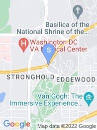 Trinity Washington University map