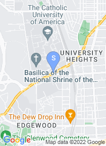 Catholic University of America map