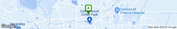 Map of La Casita Patio Cafe
