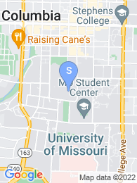 University of Missouri Columbia map