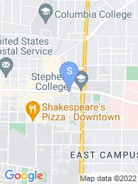 Stephens College map
