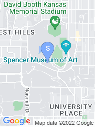 University of Kansas map