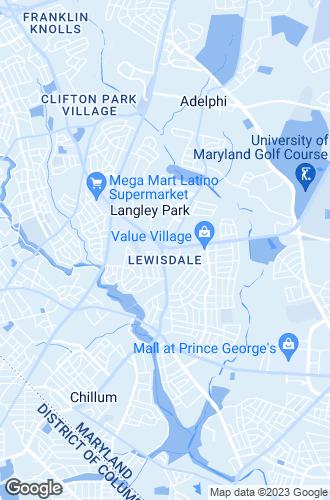 Map of Hyattsville