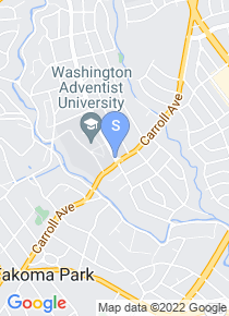 Washington Adventist University map