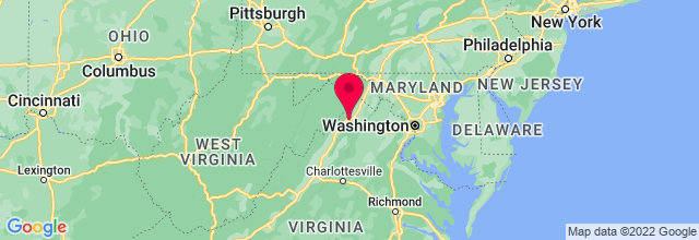 Map of Strasburg, VA, US