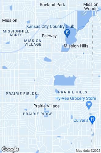 Map of Prairie Village