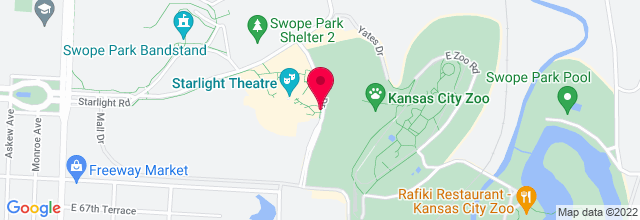 Map for Starlight Theatre