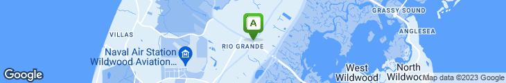 Map of Alfredo's Italian Restaurant