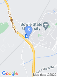 Bowie State University map