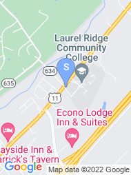 Lord Fairfax Community College map