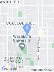 Washburn University map