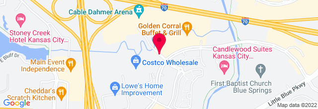 Map for Independence Events Center