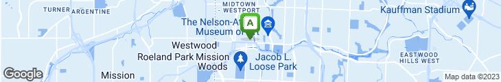 Map of Houston's