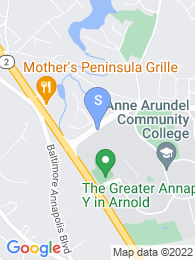 Anne Arundel Community College map