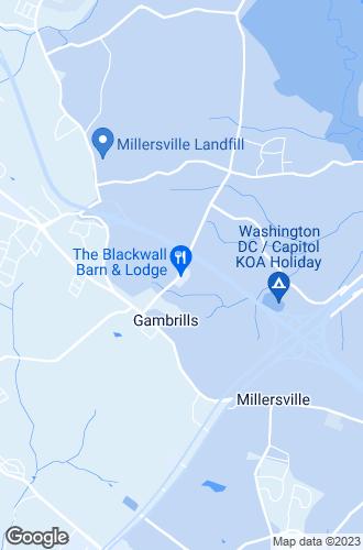 Map of Gambrills
