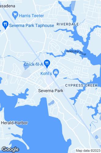 Map of Severna Park