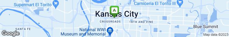 Map of Willie's Kansas City