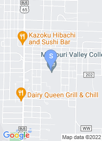 Missouri Valley College map