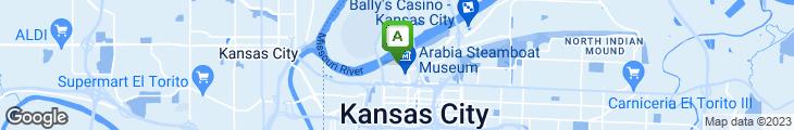 Map of Cafe Des Amis
