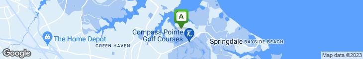 Map of Tall Oaks Restaurant