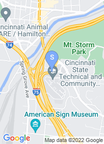 Cincinnati State Technical College map