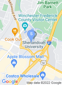 Shenandoah University map