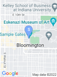 IU Bloomington map