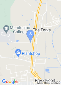 Mendocino College map